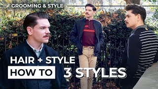 3 Hair and Style Looks I Love | How To Create