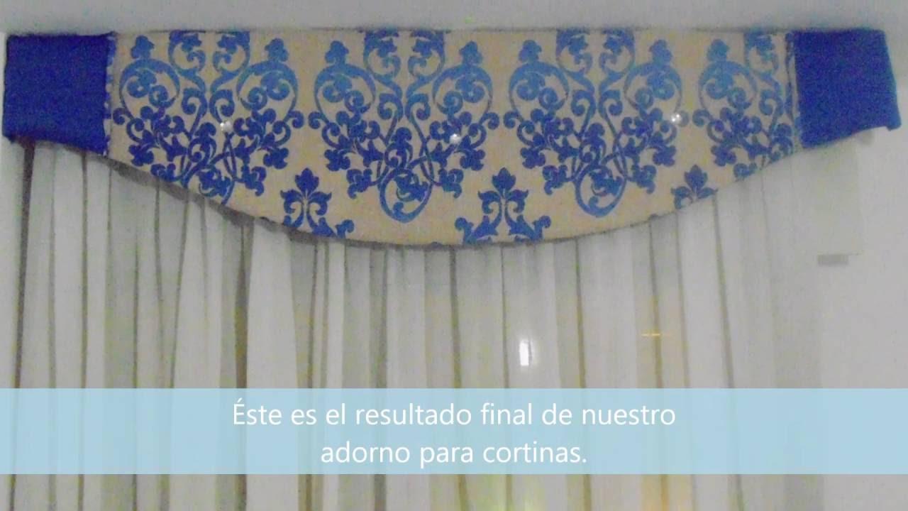 adorno para cortinas visillo cortina a juego con