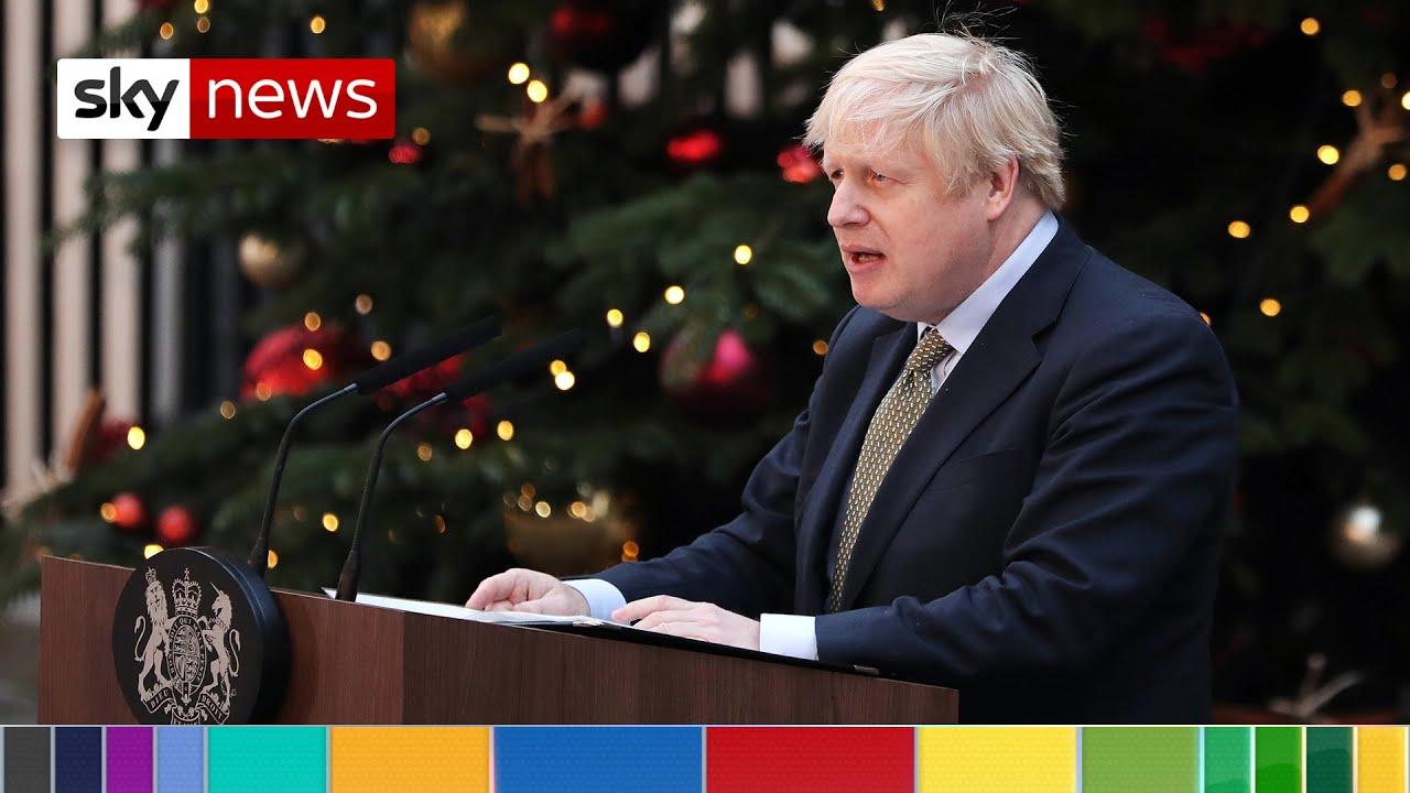 PM's victory speech: UK must 'find closure' on Brexit debate