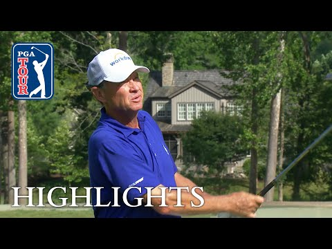Davis Love III extended highlights   Round 2   The Greenbrier