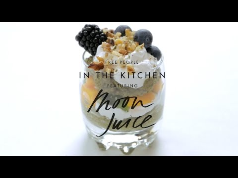 Matcha Chia Pudding Recipe ft. Moon Juice | In The Kitchen | Free People