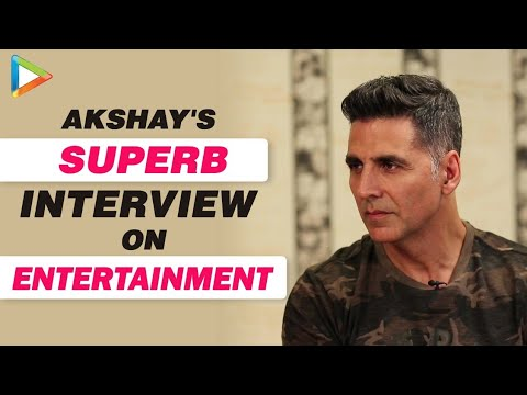 Entertainment: Akshay Kumar Exclusive FULL