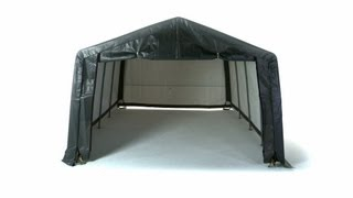 Shelterlogic® Garage-in-a-box® (steel Shelterlock® Model)