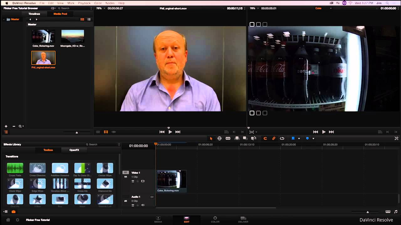 Introduction to Flicker Free for DaVinci Resolve