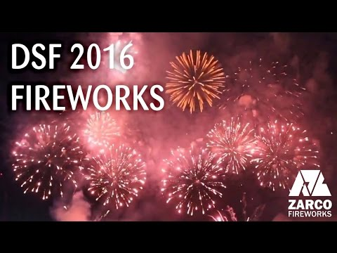 Dubai Fireworks DSF 2016 at JBR - 07 Jan 2016