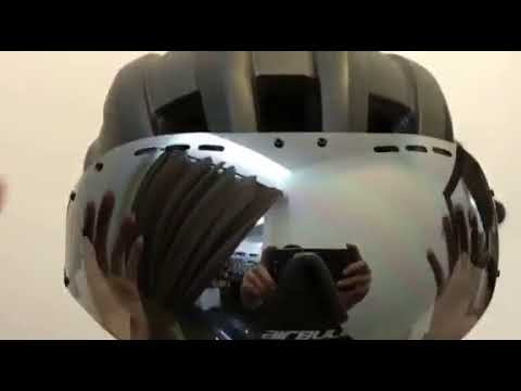 CAIRBULL Speed Airo Aerodynamic Racing Road Bike Helmet Sun Visor/Goggles