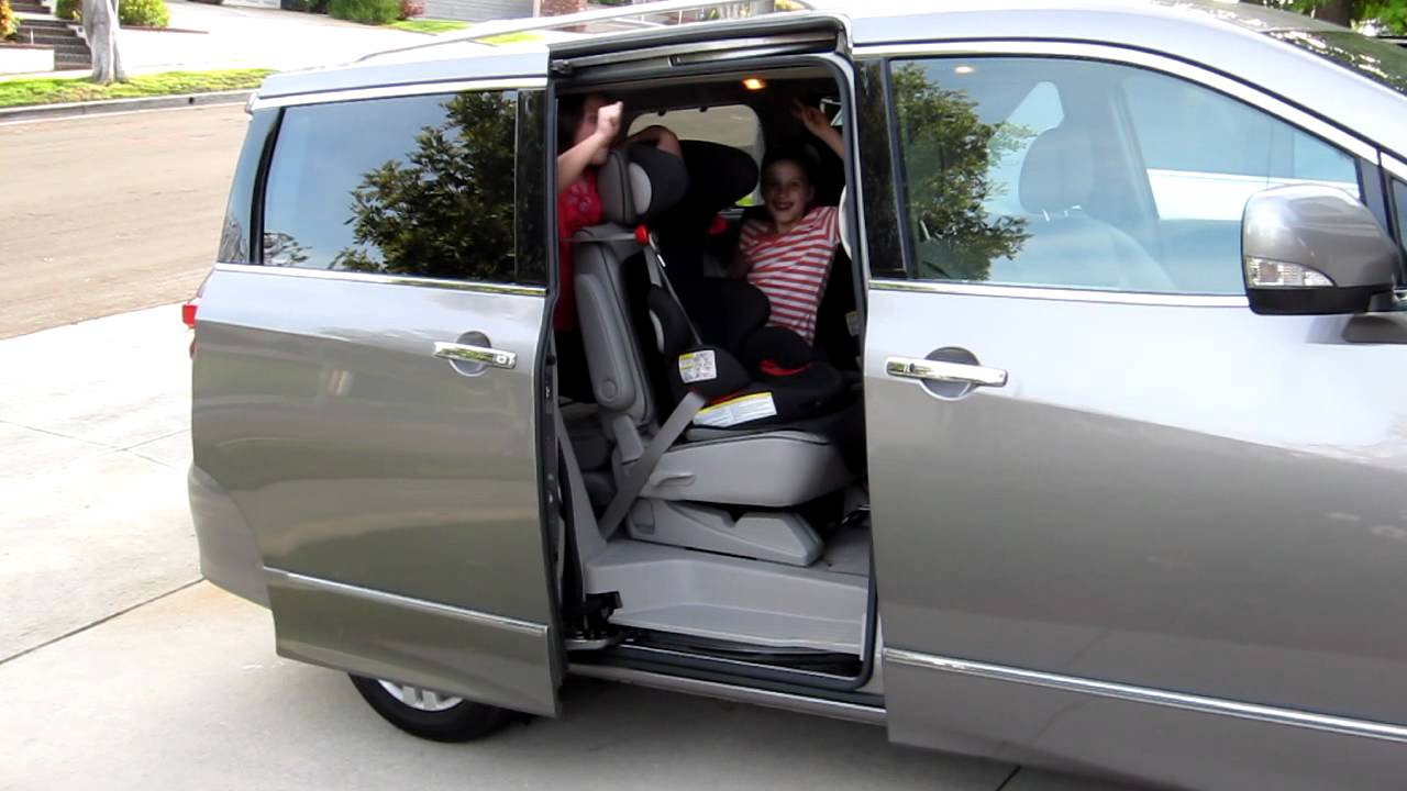 2012 Nissan Quest Power Sliding Door Youtube