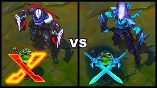 PROJECT Zed vs Death Sworn Zed Best Zed Skins Comparison (League of Legends)
