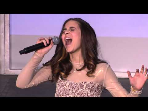 """Carly Rose Sonenclar performs """"Rolling in the Deep"""" at Gannett Front 2013"""