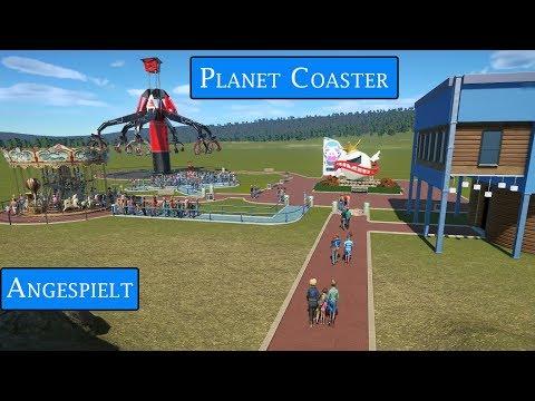 Planet Coaster [#000] Angespielt   Wir bauen einen Freizeitpark [Deutsch]