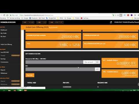 P6 - Hướng dẫn nạp tiền vào Ví Bitcoin Wallet trong HomeBlockCoin