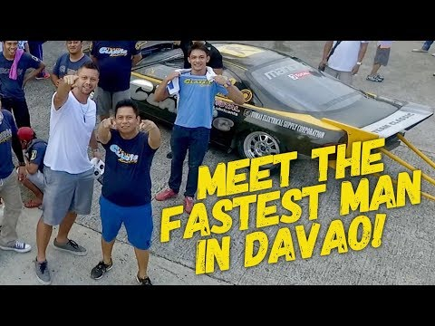 Meet the fastest man in Davao City: Philippines Drag Racing