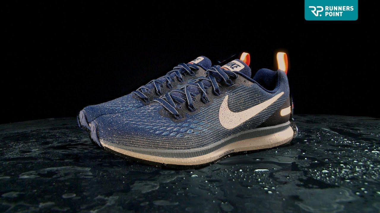Nike AIR ZOOM PEGASUS 34 SHIELD - YouTube 11462827c2da1