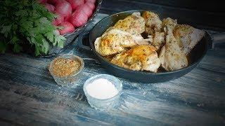 Тушеная курица в белом вине – итальянский рецепт