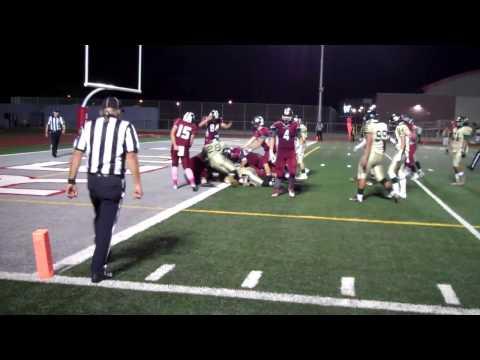 Prep Football Highlights Sweetwater 24, Mar Vista 13