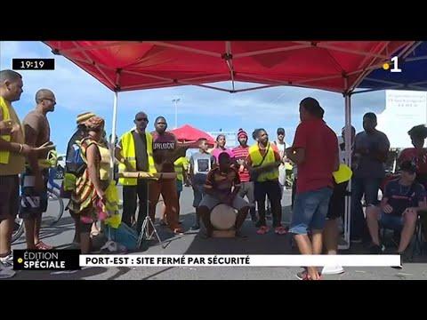 Port-Est : site fermé par sécurité
