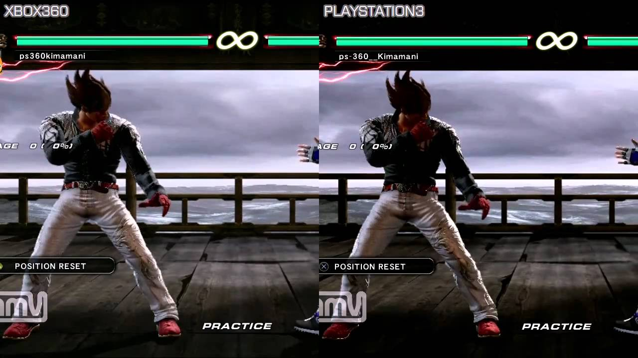 Tekken 6 Response Ps3 Vs Xbox360 Youtube