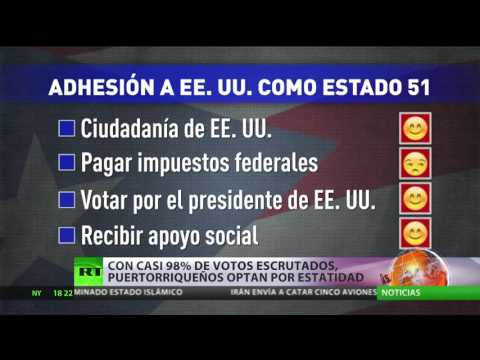Referéndum en Puerto Rico: La isla quiere ser el estado 51 de EEUU