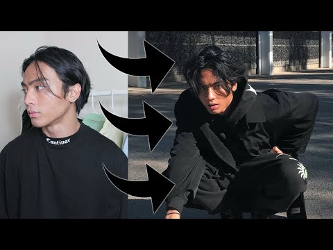 STRAIGHT TO WAVY/MESSY HAIRSTYLE TUTORIAL thumbnail