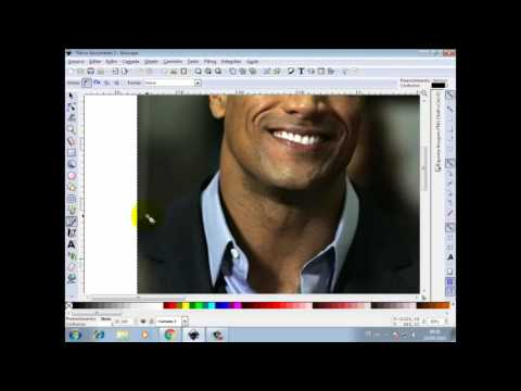 Como remover o fundo da imagem no InkScape