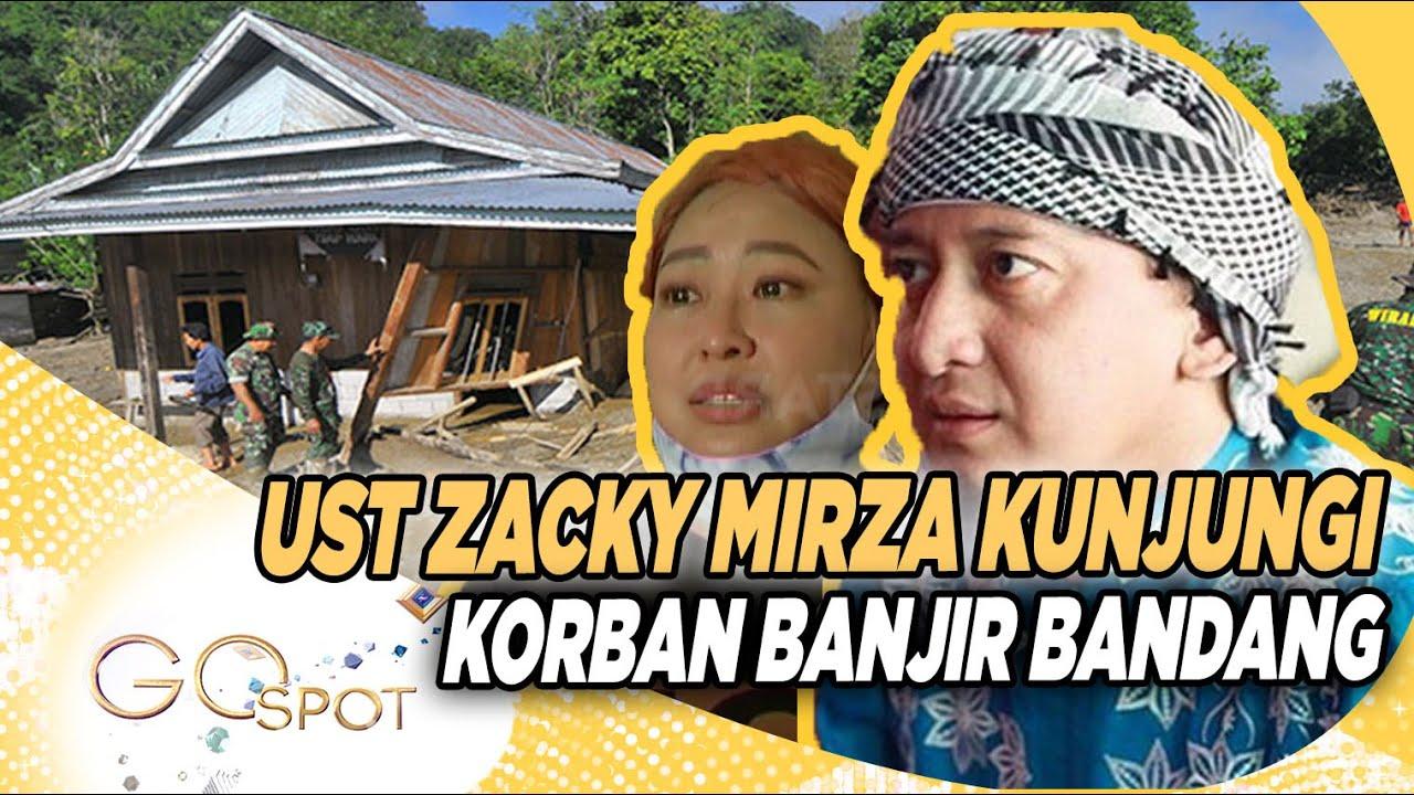 "Mba Yuni ""TOP"" Sampai Menangis, Ust Zacky Mirza Ajak Kunjungi Korban Banjir Bandang – GO SPOT 27/09"