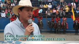 GAD MUNICIPAL SAN JACINTO DE YAGUACHI,AUSPICIA 5to Rodeo Montubio 2014