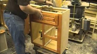 Installing Cabinet Hardware - Custom Bathroom Vanities - Part 11 Of 11