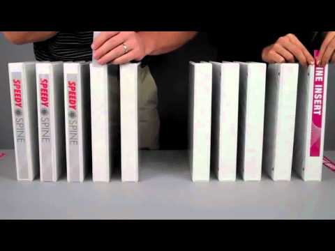 Samsill Speedy Spine Time Saving View Binder Overview