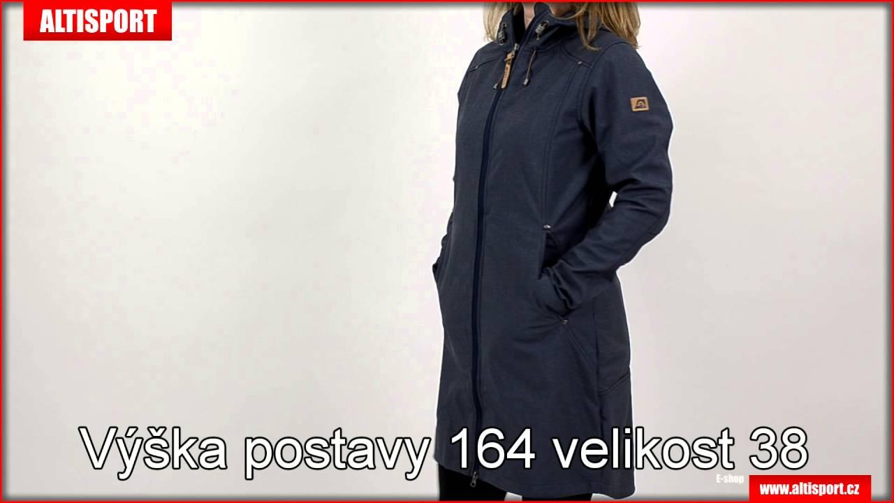 dámský softshellový kabát alpine pro akka 2 tmavě modrá - YouTube 5ebf007436b