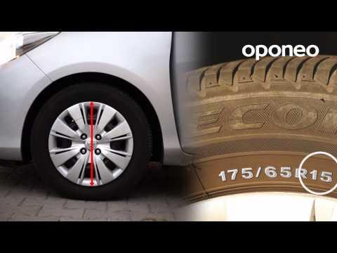 Wie Wird Die Reifengröße Abgelesen? ● Ratgeber Oponeo™