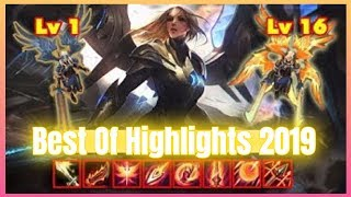 REWORKED Kayle Stream Highlights and Best of Pro Plays NEW *BROKEN* League of Legends