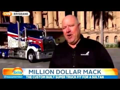 (full-video)-fit-for-a-sultan-:-world's-most-expensive-mack-truck-unveiled-in-brisbane