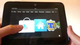 Install Alternative Home Launcher for Kindle Fire HD
