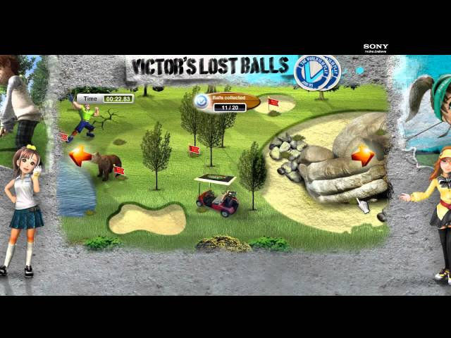 Playstation: PS Vita - Victors Lost Balls Game