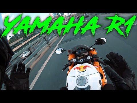 Очень быстрый мотоцикл   Эродин, сын Одина   Тестирую Yamaha R1 2011 года