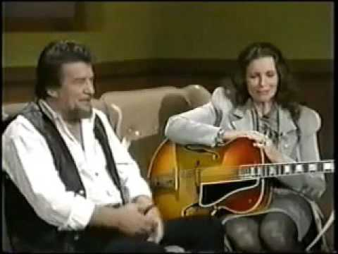 Jessi Colter & June Carter Cash sing to Waylon & Johnny from the TV show Waylon Jennings & Friends.