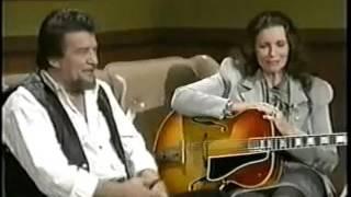 Jessi Colter & June Carter Cash sing to Waylon & Johnny from the TV show Waylon Jennings & Friends.