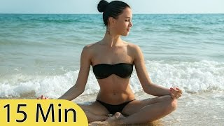 15 minutes music for meditation, relaxing music, music for stress relief, background music, ☯407b