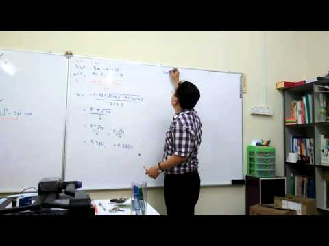 Compare among Factorization, Completing the square and Formula