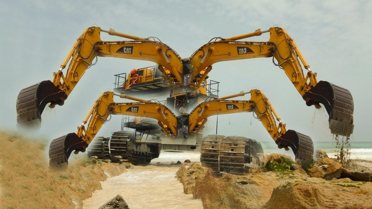 Amazing Construction Machinery Compilation 2018|| You Need ...