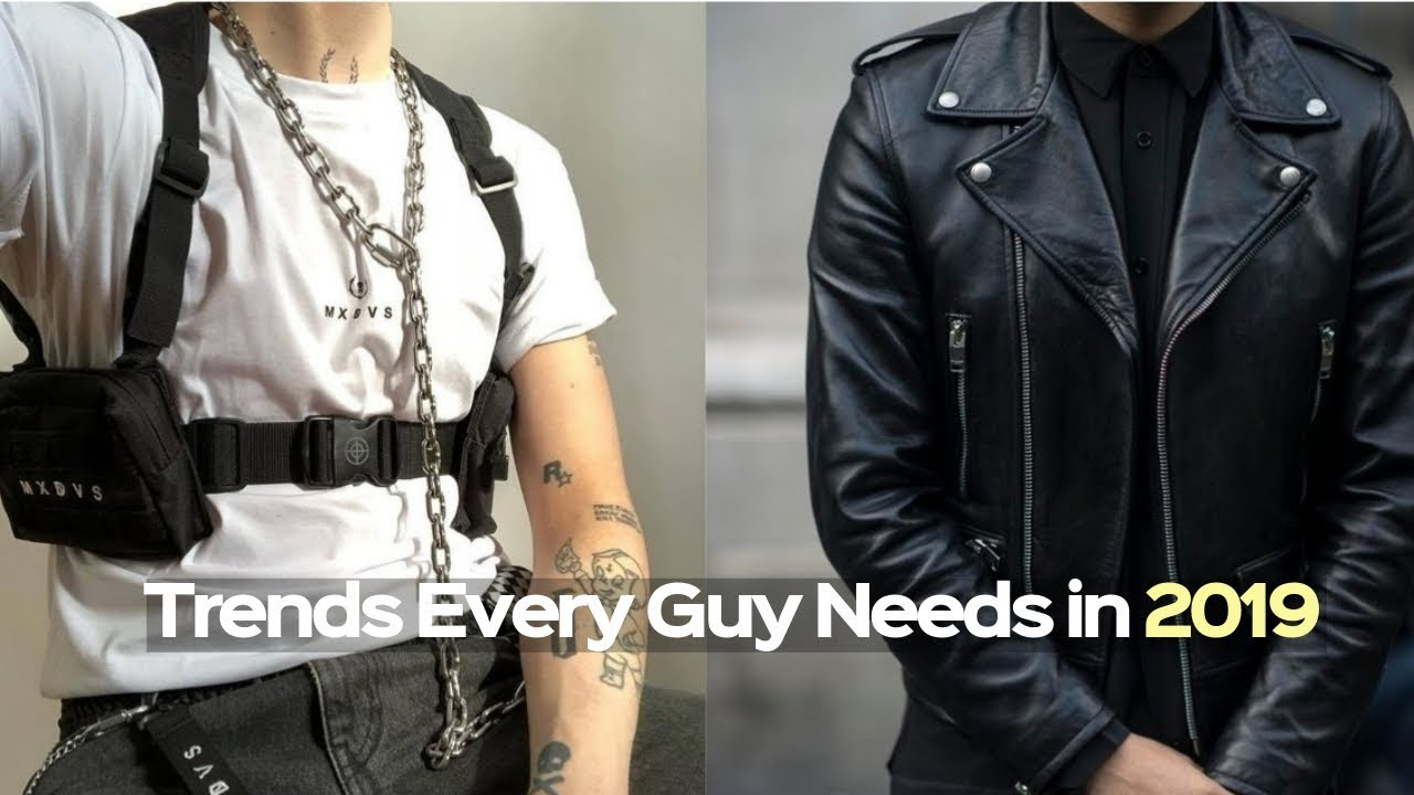 New Men S Fashion Winter Trends 2019 Every Guy Must Have Youtube