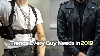 NEW Men's Fashion Winter Trends [2019] Every Guy Must Have
