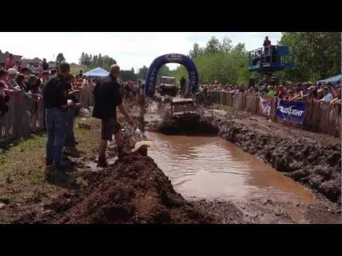 Polaris RZR takes first place at Hurley, Wisconsin Mud Run - Part 1