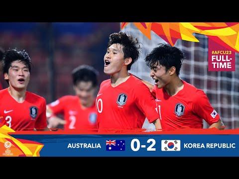 #AFCU23 M29 - AUSTRALIA 0 - 2 KOREA REPUBLIC : HIGHLIGHTS