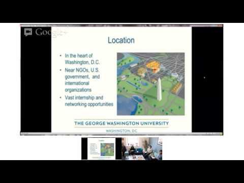 PostGrad USA Presentation: Elliott School of International Affairs, George Washington University
