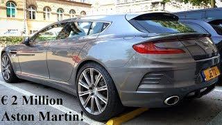 € 2 Million Aston Martin Rapide Bertone Jet 2+2 one-off in Zagreb!