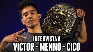 REDBULL BC ONE 2015 | Victor - Menno - Cico interview