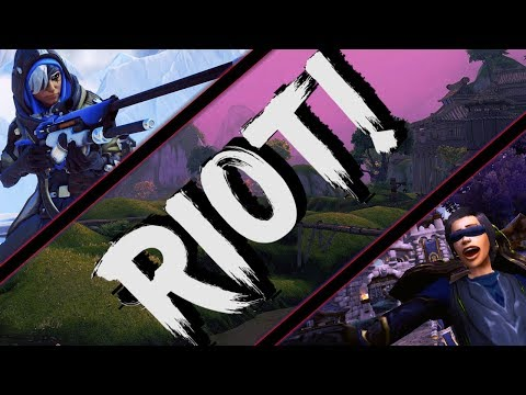 RIOT :: A High Energy PvP/Gaming Electronic Music Mix