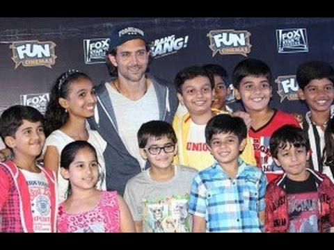 Hrithik Hosst 'Bang Bang' Screening For 150 Kids
