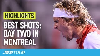 Best Moments Of Day Two In Montreal   HIGHLIGHTS   ATP